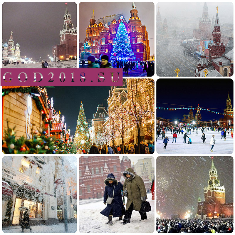 Weather for New Year in Moscow 2018. Forecast for the month