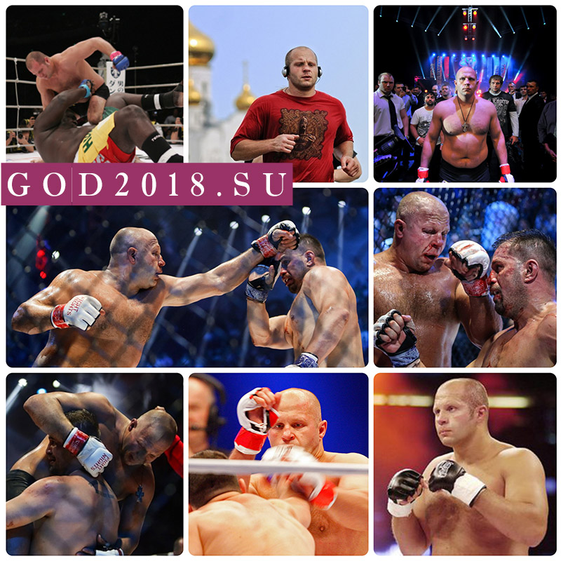 Fights Fedor Emelyanenko in 2018. Who are rivals
